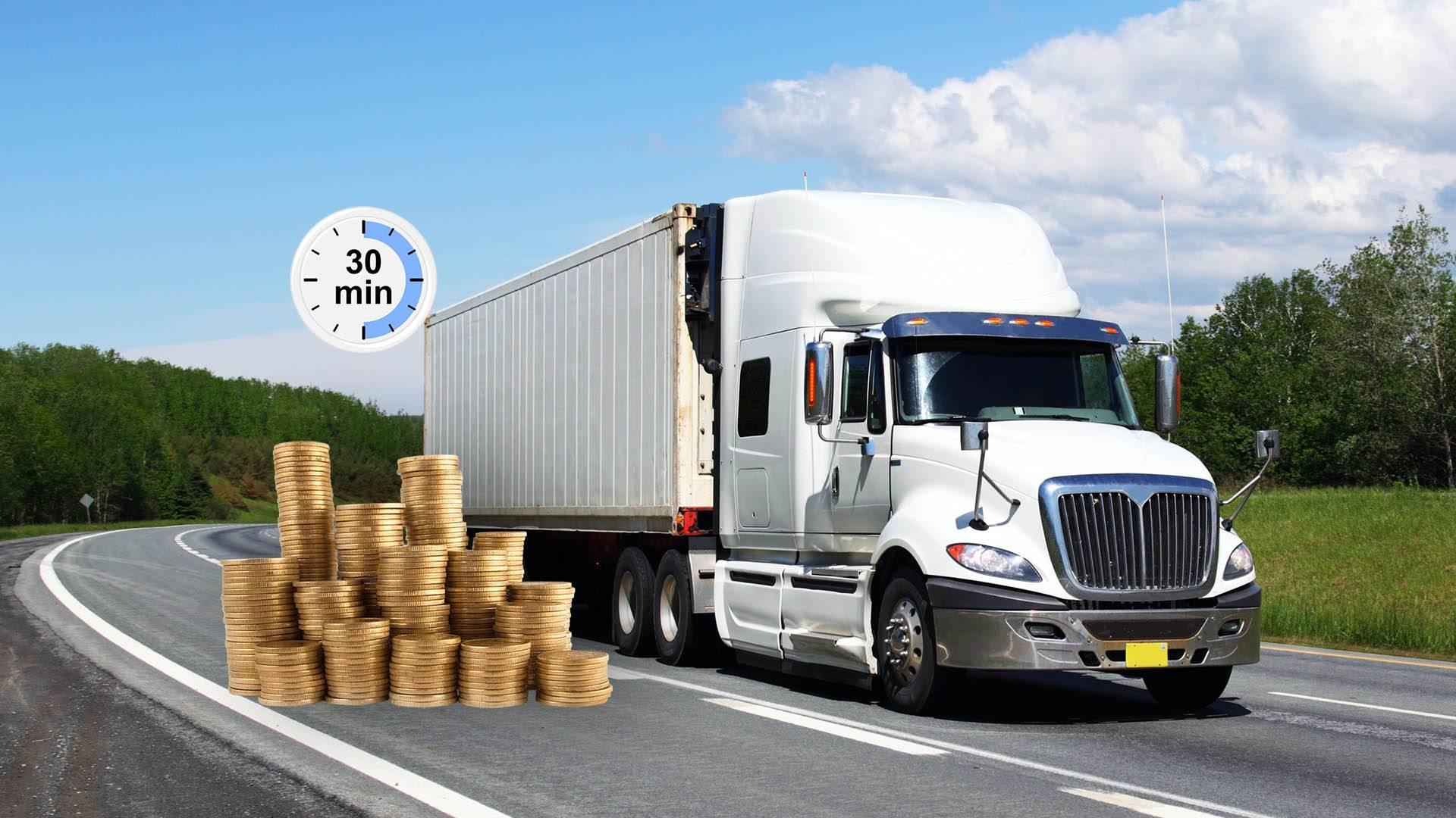 Кредит в Ялте под залог ПТС грузового автомобиля. Займ под залог грузового транспорта