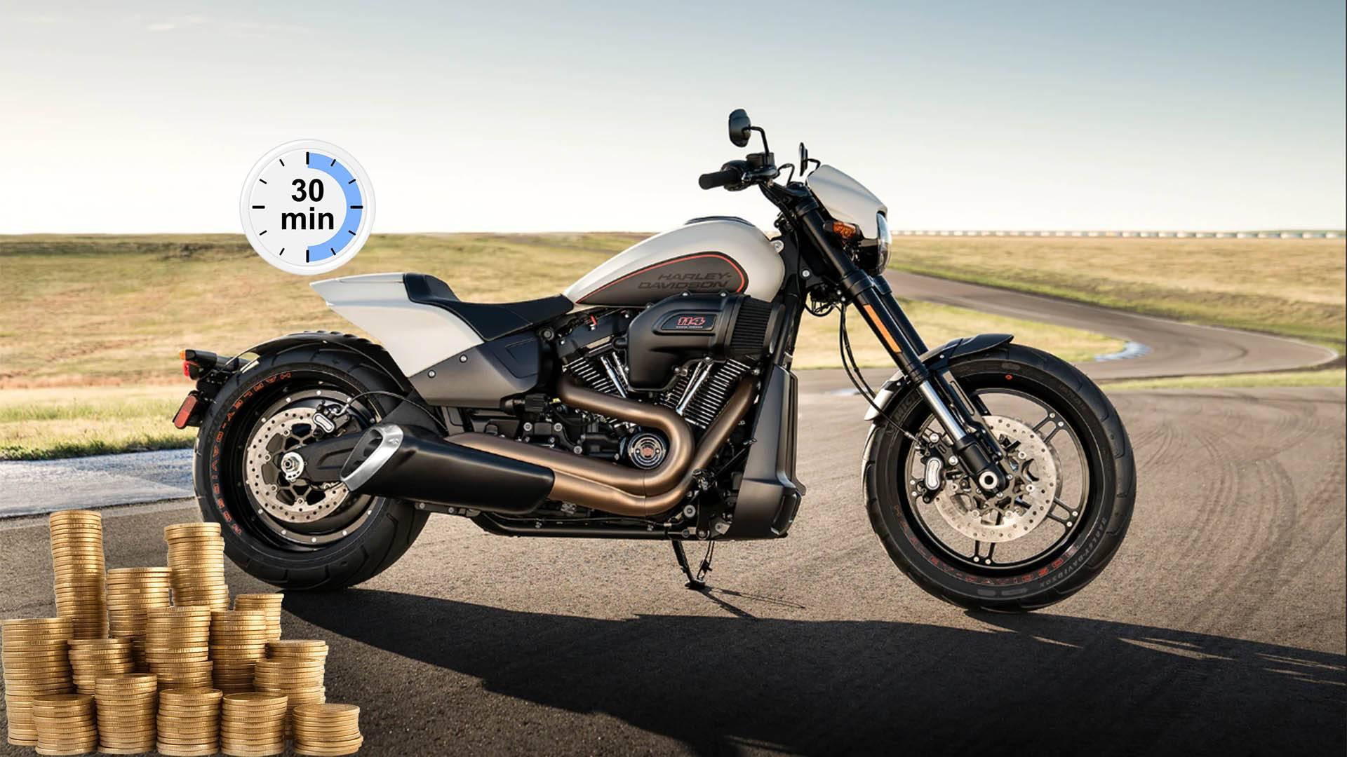 Займ под залог ПТС мотоцикла в Уфе